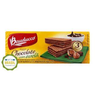 Empório Brasil - Biscoito Wafer Bauducco Chocolate com Avela
