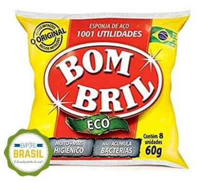 Empório Brasil - Espoja de aço Bombril 60g