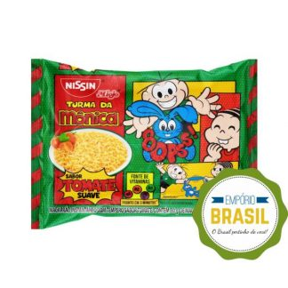 Empório Brasil - Nissin miojo turma da Mônica sabor tomate suave